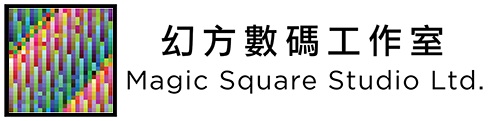 Magic Square Studio 幻方數碼 Retina Logo